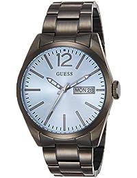 Guess Herren-Armbanduhr Analog Quarz Edelstahl W0657G1