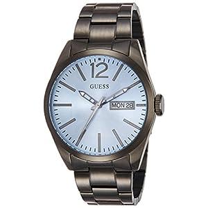 Guess Reloj analogico para Hombre de Cuarzo con Correa en Acero Inoxidable W0657G1