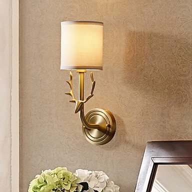 YYHAOGE Protection Des Yeux Vintage Pour La Chambre Metal Wall Light 220V 40W