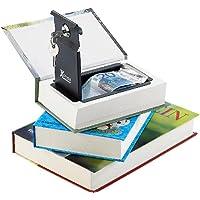 Xcase Buchtresor: Buch-Tresor, getarnt als Roman, ECHTES Papier, 18,5 x 13 cm (Geldversteck)