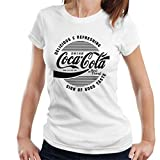 Coca-Cola Circle Logo Black Text Women's T-Shirt
