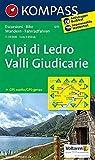 Alpi di Ledro - Valli Giudicarie: Wanderkarte mit Radrouten. GPS-genau. 1:35000: Wandelkaart 1:35 000 (KOMPASS-Wanderkarten, Band 71)