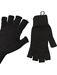 Unisex Knitted Fingerless Gloves High Quality Warm, Stretch and Comfort