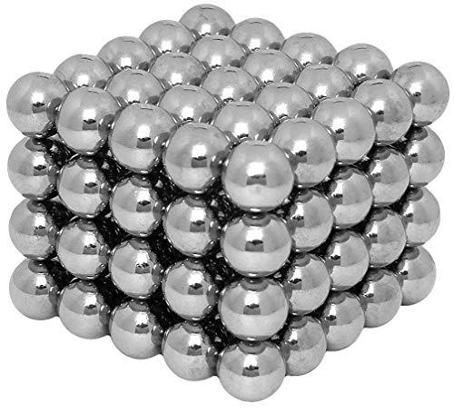 Starke Neodym Magnete für Magnettafel - 100 Stück 5x5x5mm - für Kühlschrank Pinnwand Memoboard Whiteboard - Mini Magnete - Extra Stark (Kugeln)
