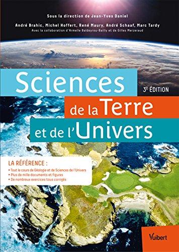 Sciences de la Terre et de l'Univers: Licence SVT - Licence Sciences de l'Univers - CAPES et Agrgation SVT