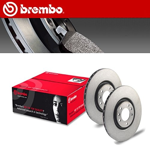 Preisvergleich Produktbild Kit Bremsscheiben Brembo Fiat Panda VAN (169) 1.24x 444kw ab 09.04