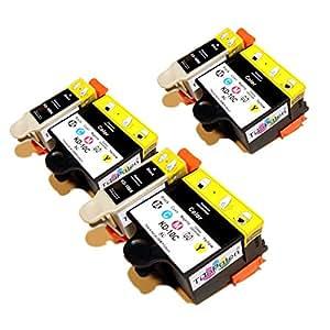 * Tito parrains * 6x Kodak n ° 10de Office compatible avec Kodak Hero 6.1. Premium Cartouches d'encre XL compatibles dans puissance et de Prix de Course 3x couleur et 3x noir. Très bonne valeur.