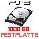 Notebook-Festplatte 1024GB/1TB, 5400rpm, 128MB Cache für Sony Playstation 3, PS3 passt auch in die PS3 Slim und Superslim