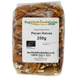 Buy Whole Foods Online  Organic Pecan Nut Halves 250 g