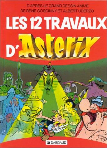 Les 12 travaux d'Astérix : L'album du fil...