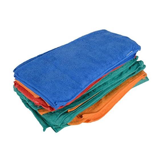 Sheen Microfiber Vehicle Washing Cloth |B Quality | 300 Gsm | Pack Of 30 |