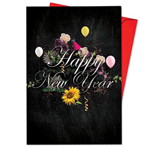 Nobleworks Valentine 's Day Funny Grußkarte 12 New Year Card Pack (SKU:B2358ANYG) (Valentines Day Pack Von Karten)