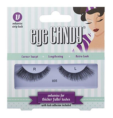 Eye Candy 005 Faux-cils effet naturel volume style années 50