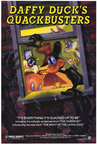 daffy-ducks-quackbusters-affiche-du-film-poster-movie-niais-cane-quackbusters-27-x-40-in-69cm-x-102c