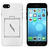 Azeeda Weiß 'Batterie' Hülle für iPhone 7 (MC00071560)