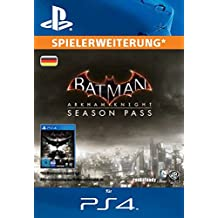 Batman: Arkham Knight Season Pass [Zusatzinhalt] [PS4 PSN Code - deutsches Konto]