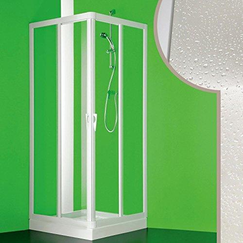 Cabine douche 70x70CM en acrylique mod. Venere avec ouverture centrale