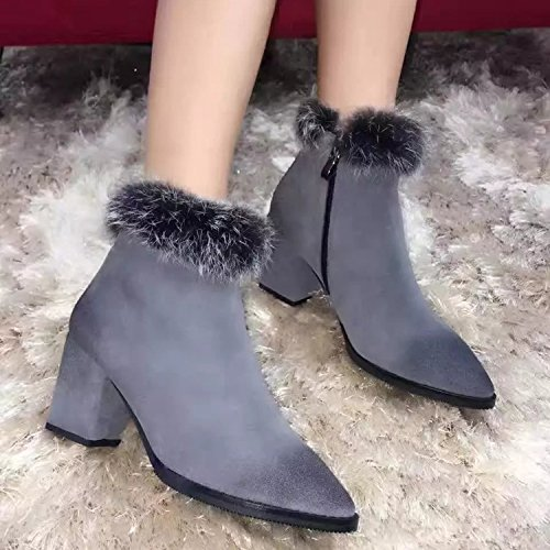 Inverno Cachemire Chaussure Femelle Shaoge Chaussures S Femmes gfKHSnCIq0