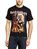 Collectors Mine Herren T-Shirt Iron Maiden-Number of the Beast Graphic, Gr. 54 (XXL), Schwarz (Schwarz)