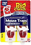 The Big Cheese Ultra Power Mouse Traps - Twin-Pack