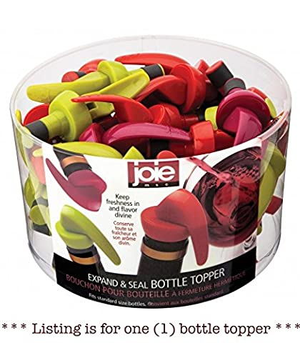 Joie Single Airtight Bottle Stopper - Wine Cork - Assorted