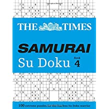 The Times Samurai Su Doku Book 4