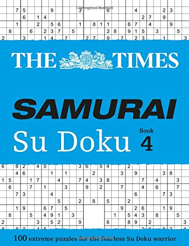 The Times Samurai Su Doku 4 (Times Mind Games)