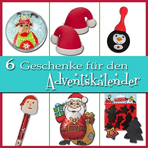 Adventskalender Füllen - 6 Geschenke für Jungs zum Befüllen Nikolaus Stiefel (Füllen Stiefel)