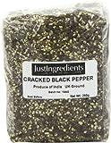 JustIngredients Essential Poivre noir concassé mouture 8 (poivre à steak) (Black Pepper - Cracked 8# (Steak Pepper)) 250g - Lot de 2