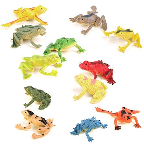 stoff Frosch Figuren Simulation Dekoration Kinder Spielzeug ()