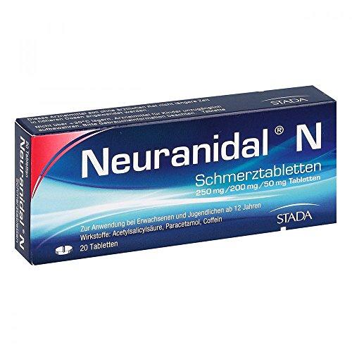Neuranidal N Schmerztabletten 20 stk