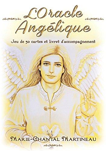 L'Oracle Angélique - Jeu de 50 cartes et livret d'accompagnement par Marie-Chantal Martineau
