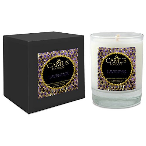 Organic-Essential-Oil-Luxury-Candle-Lavender-Spa