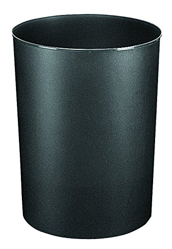 korb Allrounder 13 Liter, schwarz, runder Mülleimer, stabiler Kunststoff, Inhalt 13L ()