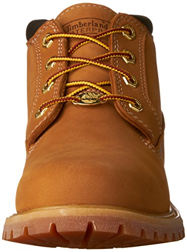 Timberland Women's Nellie Double WP Ankle Boot,Wheat Yellow,10 M US Wheat Yellow