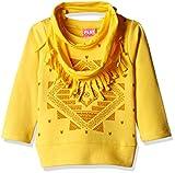 Little Kangaroos Baby Girls' T-Shirt (PL1263_Yellow_2Y)