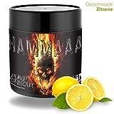 Strong Muscle Nutrition HAMMAAA PUMP Pre Workout Booster, Trainingsbooster für Frauen & Männer, 300g Lemon pro Portion 200mg Koffein hochdosiert