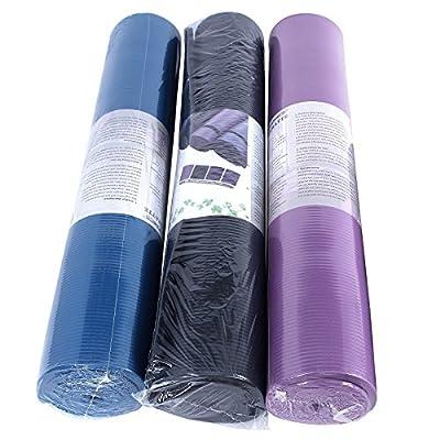 Songmics Yogamatte Verlängern Verbreitern 190 x 100 cm Stärke 1,5 cm 3 Farben Auswählbar Pilatesmatte Rutschfest Schaumstoff