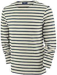bfbcebb02007a9 Saint James Meridien - Streifenshirt - Bretagne-Shirts Ecru Marine