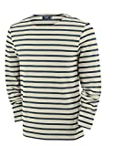 Saint James Meridien - Streifenshirt - Bretagne-Shirts ECRU/MARINE (XL)