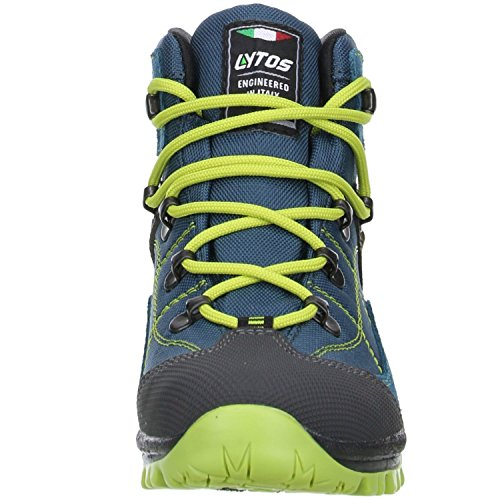 LYTOS Kinder Wanderschuhe Trekkingschuhe petrol/grün Blau