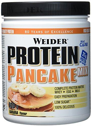 Weider, Protein Pancake Mix, Banane, 1er Pack (1x 600g) -