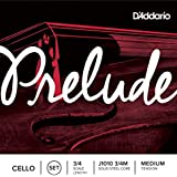 D'Addario Orchestral J1010 Prelude 3/4 M - Juego de cuerdas cello