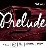 D\'Addario Bowed Jeu de cordes pour violoncelle D\'Addario Prelude, manche 3/4, tension Medium