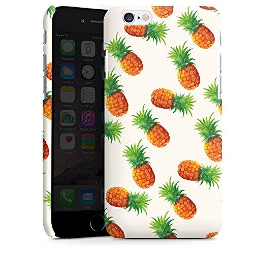 Apple iPhone 5s Housse Étui Protection Coque Ananas Été Années 90 Cas Premium mat