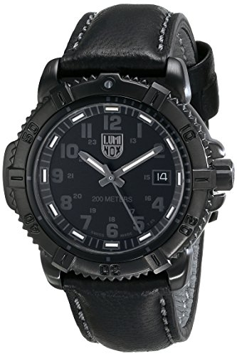 Luminox 7251.BO - Reloj para Hombres, Correa de Cuero Color Negro