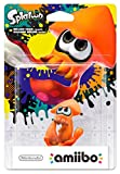 amiibo Splatoon Inkling Tintenfisch (Orange)