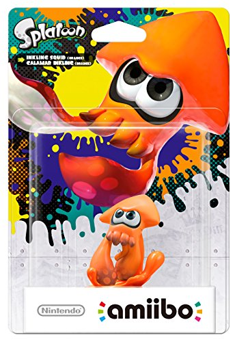 Inkling-Tintenfisch (orange) amiibo