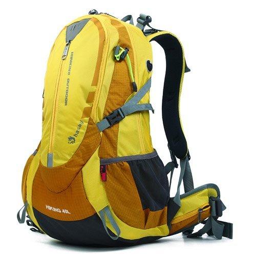 40L Outdoor-Camping-Wandern Sport Rucksack Trekking Klettern Reisen Rucksack Tasche Farbe Rot