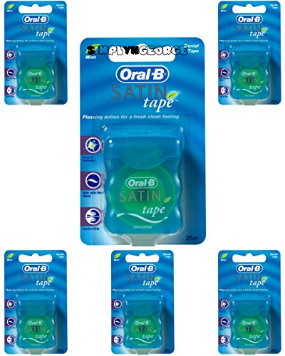 Oral-B Satin Tape, 25-Meters (6 Units)